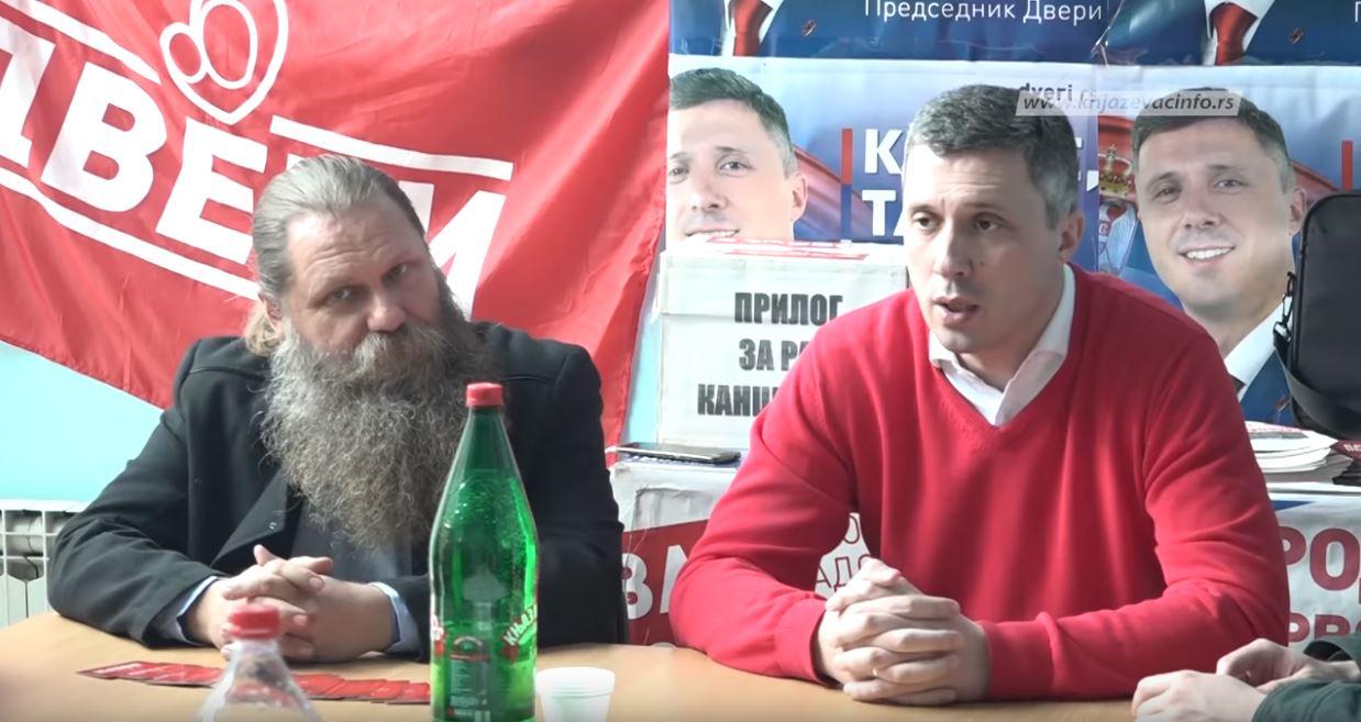 Boško Obradović u Knjaževcu: Tražimo slobodne medije i fer izbore