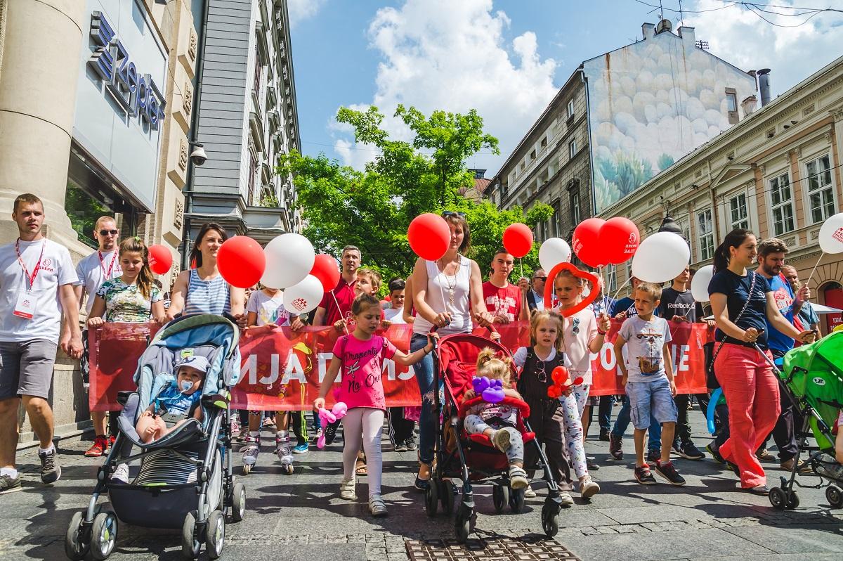 "Završena ""NEDELjA PORODICE"" i porodična šetnja u Beogradu"