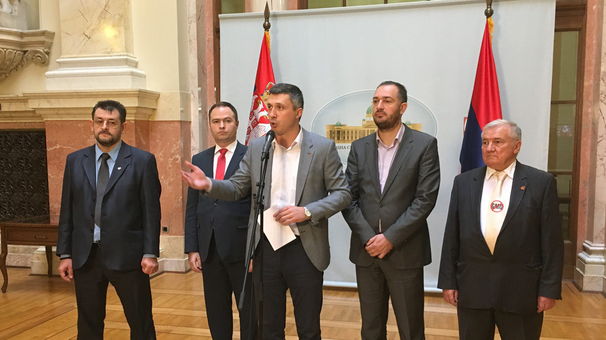 Obradović: Jedine žene koje Dveri napadaju su Vučić, Vulin i Stefanović