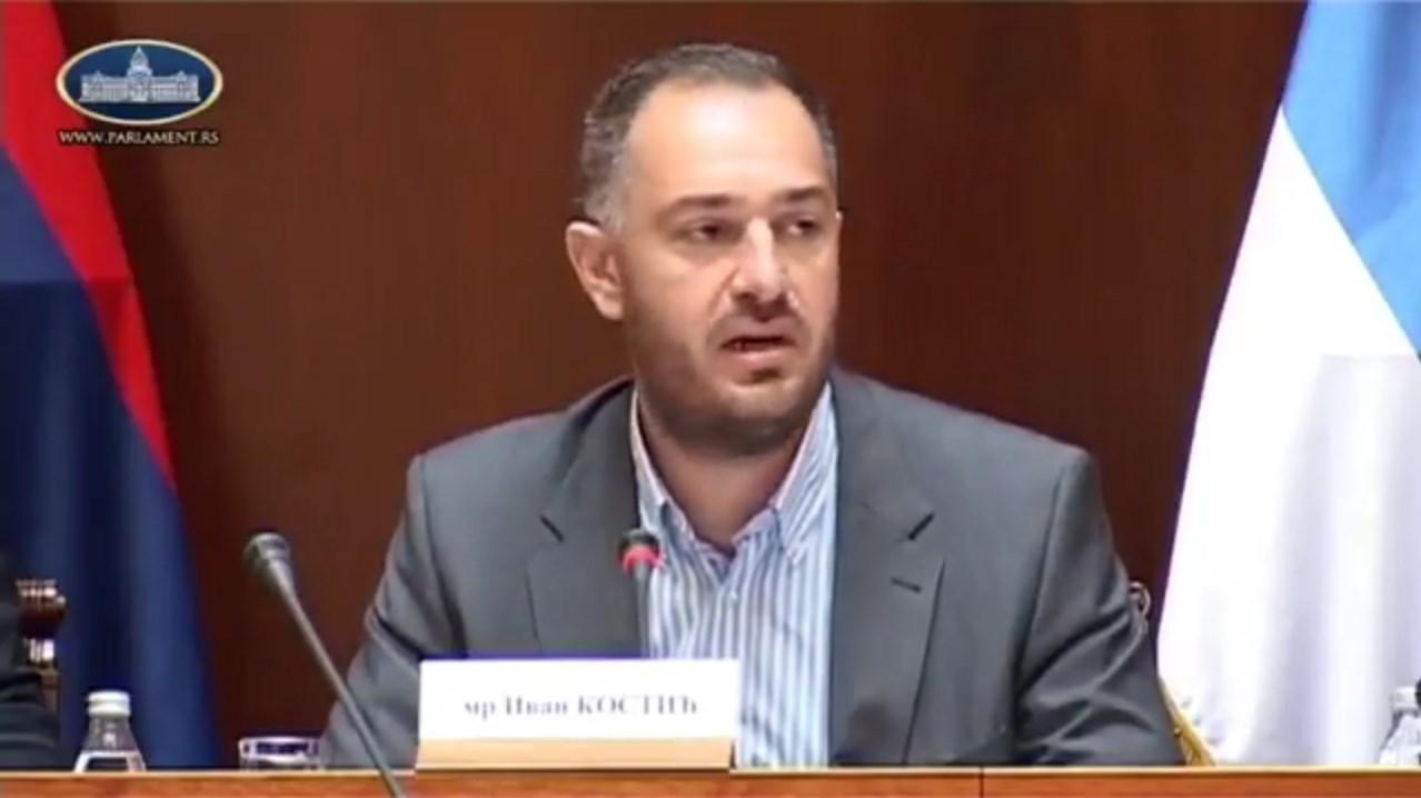 Kostić: Zaštititi Srbe u Makedoniji od albanskog hegemonizma