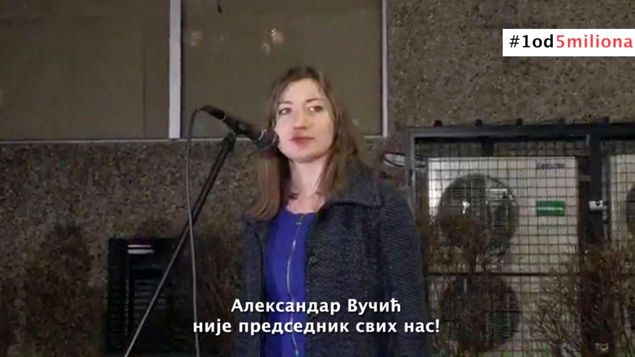 Jelena Vujanović u Smederevu: Politika nije strančarenje