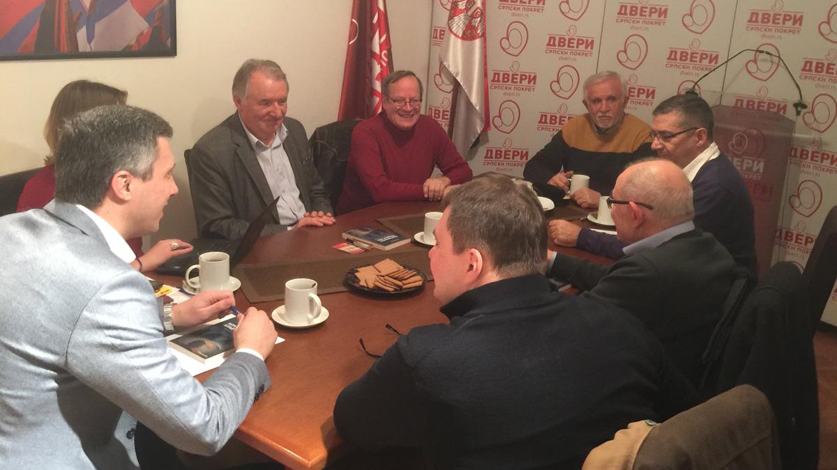 Održana sednica Političkog saveta Dveri