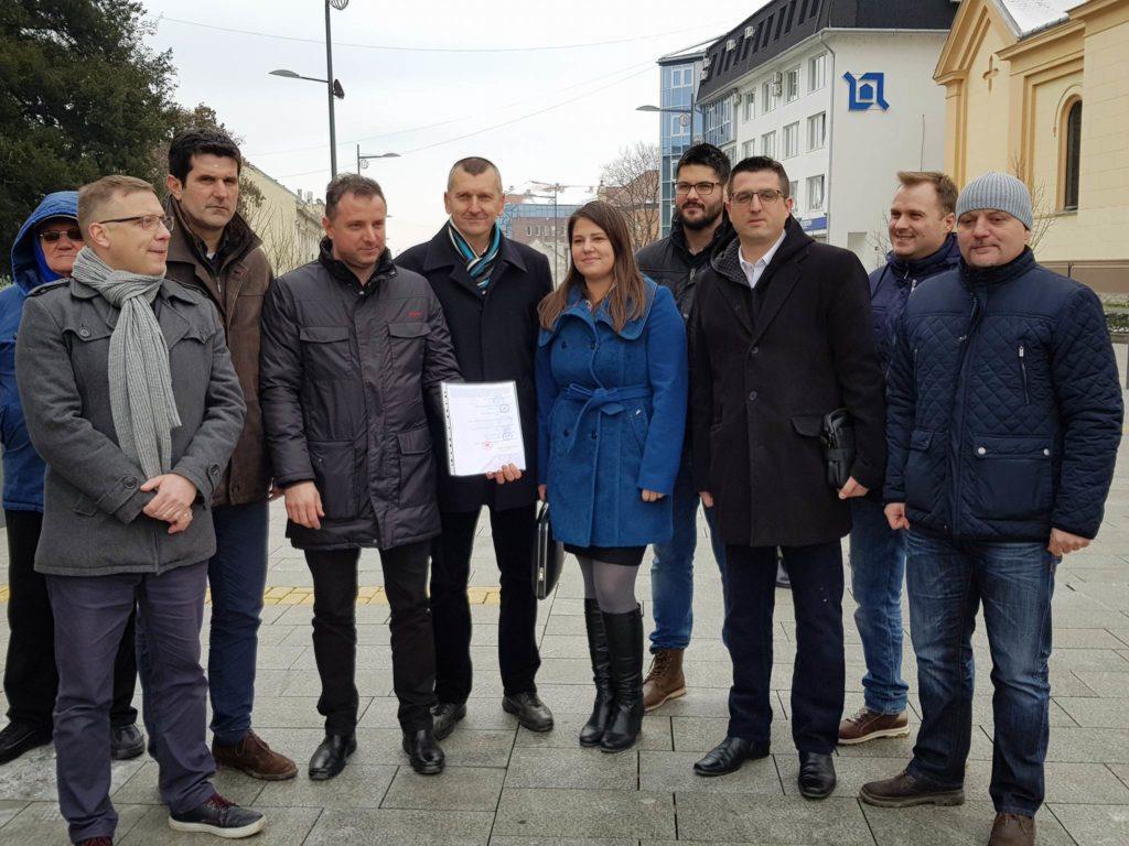 Opozicija se ujedinila oko problema pijaće vode u Zrenjaninu
