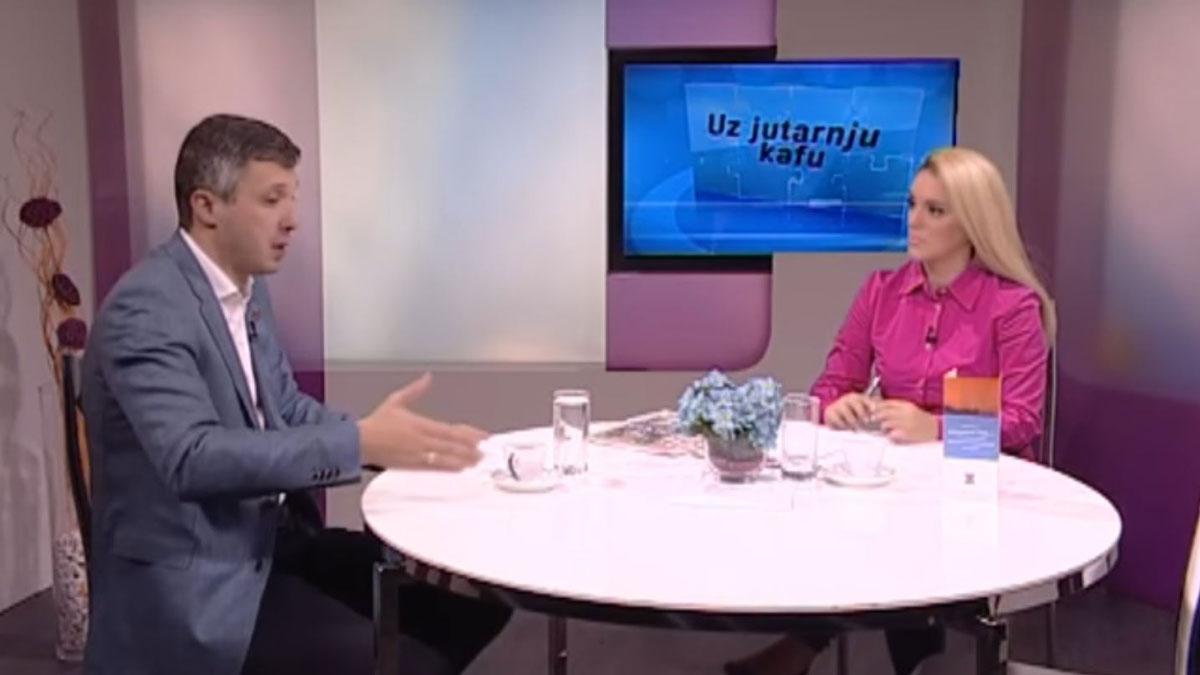 """Boško Obradović, TV Naša, """"Uz jutarnju kafu"""", 20. novembar 2018"""