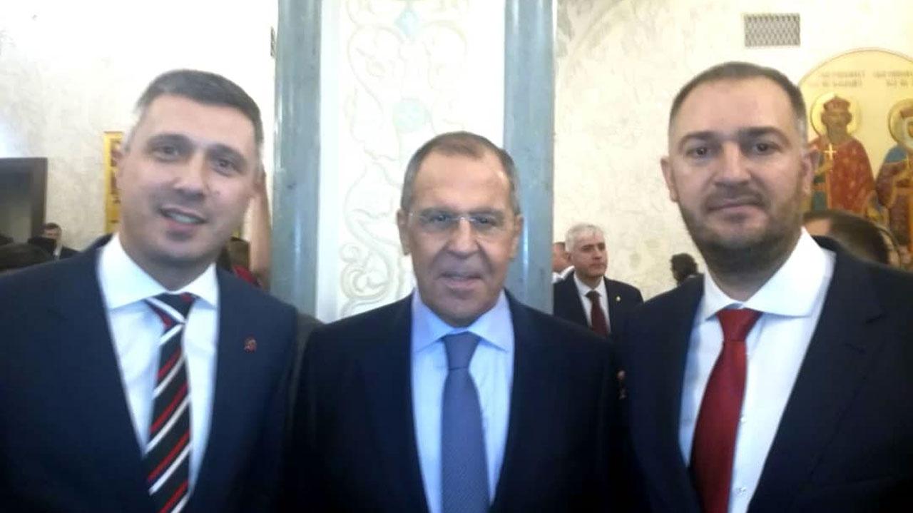 Boško Obradović imao kratak susret sa ministrom Lavrovim u Moskvi