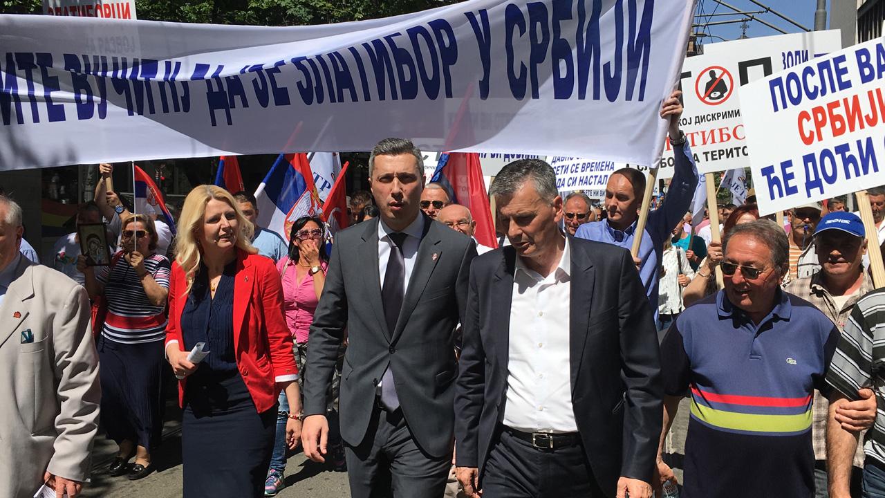 Obradović za Srbin.info: Patriotski opozicioni blok je jedina opasnost za Vučićev režim