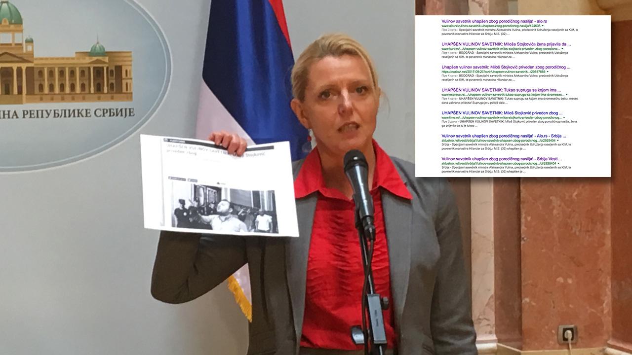 Marija Janjušević: REM krši zakon, ministar uvodi diktaturu, dok Vulinovi tuku žene