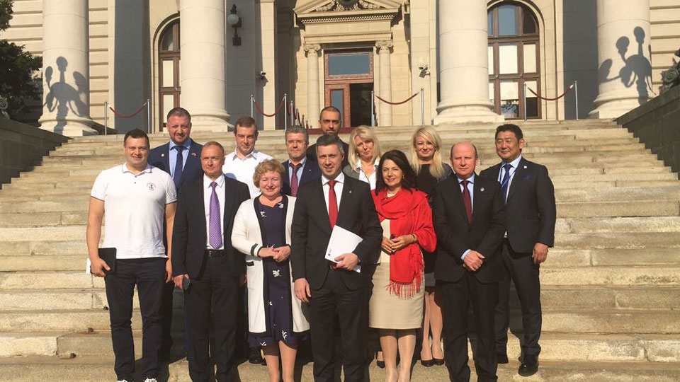 Delegacija Skupštine naroda Evroazije u poseti Narodnoj skupštini