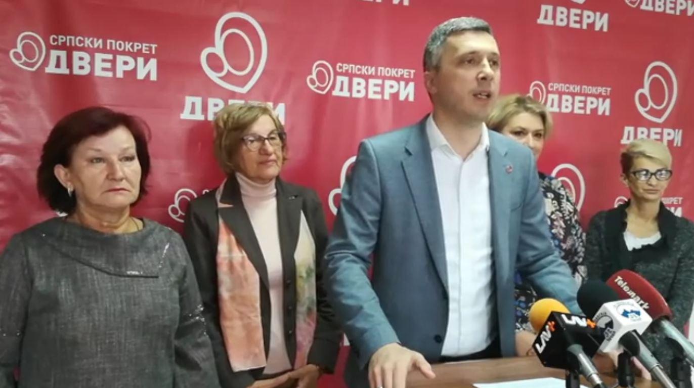 Boško Obradović: Dveri će obeležiti Nedelju porodice