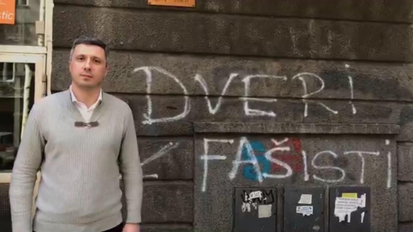 Boško Obradović povodom uništavanja kancelarija Dveri: Šta je sledeće?