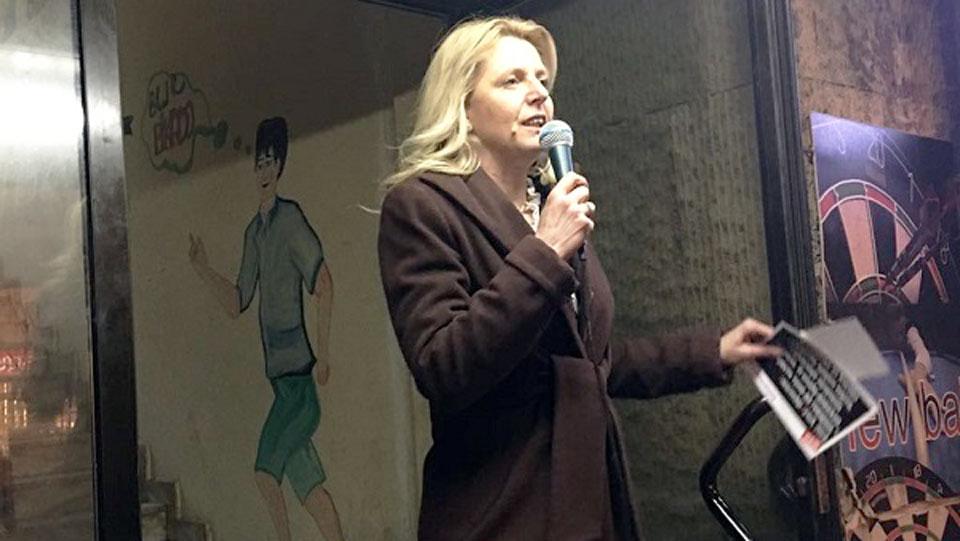Marija Janjušević u Gornjem Milanovcu: Dosta nam je Vučićevih laži