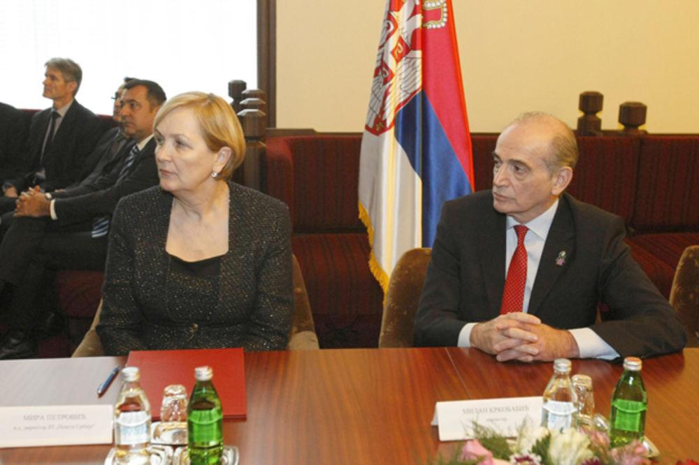 Obradović: Koliko nas košta stanje u koje je Poštu dovela Mira Petrović?