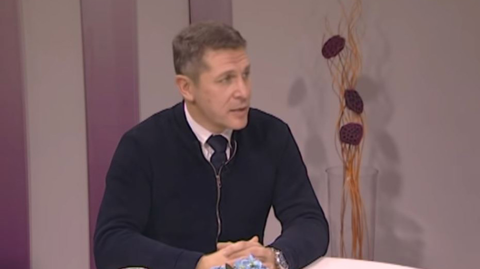 "dr Predrag Mitrović, TV Naša, ""Uz jutarnju kafu"", 14. dec. 2018."