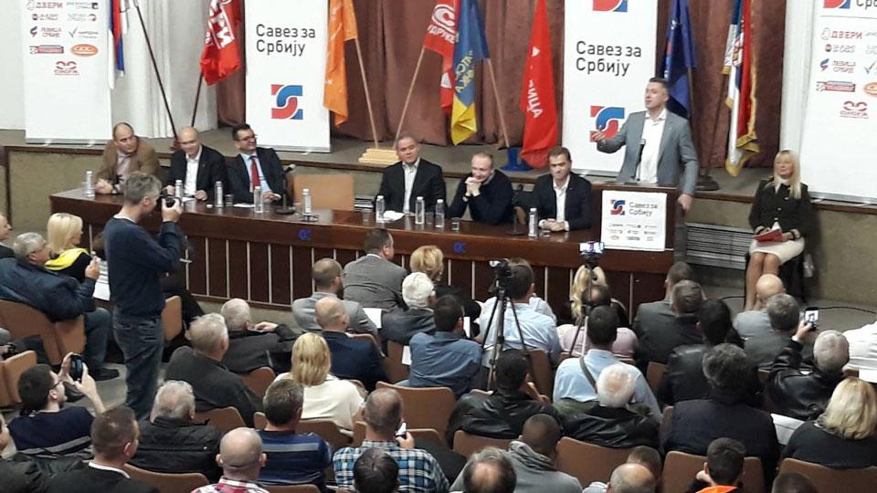 Savez za Srbiju u Novom Sadu: Vratiti dostojanstvo prosvetnim i zdravstvenim radnicima