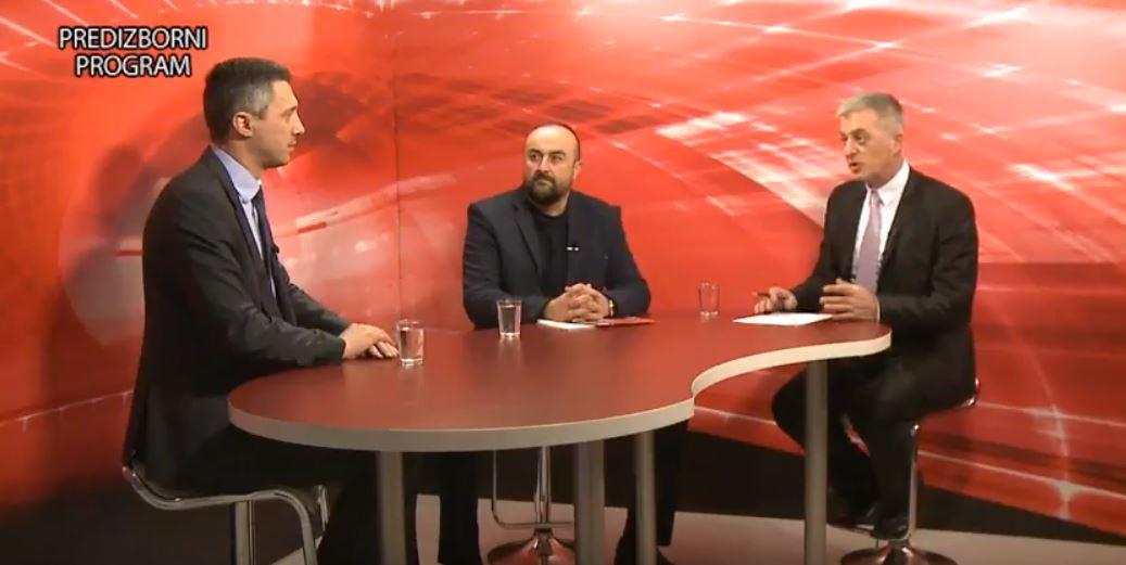 Izbori u Sevojnu: Boško Obradović i Milovan Jakovljević u emisji 'Kontakt'