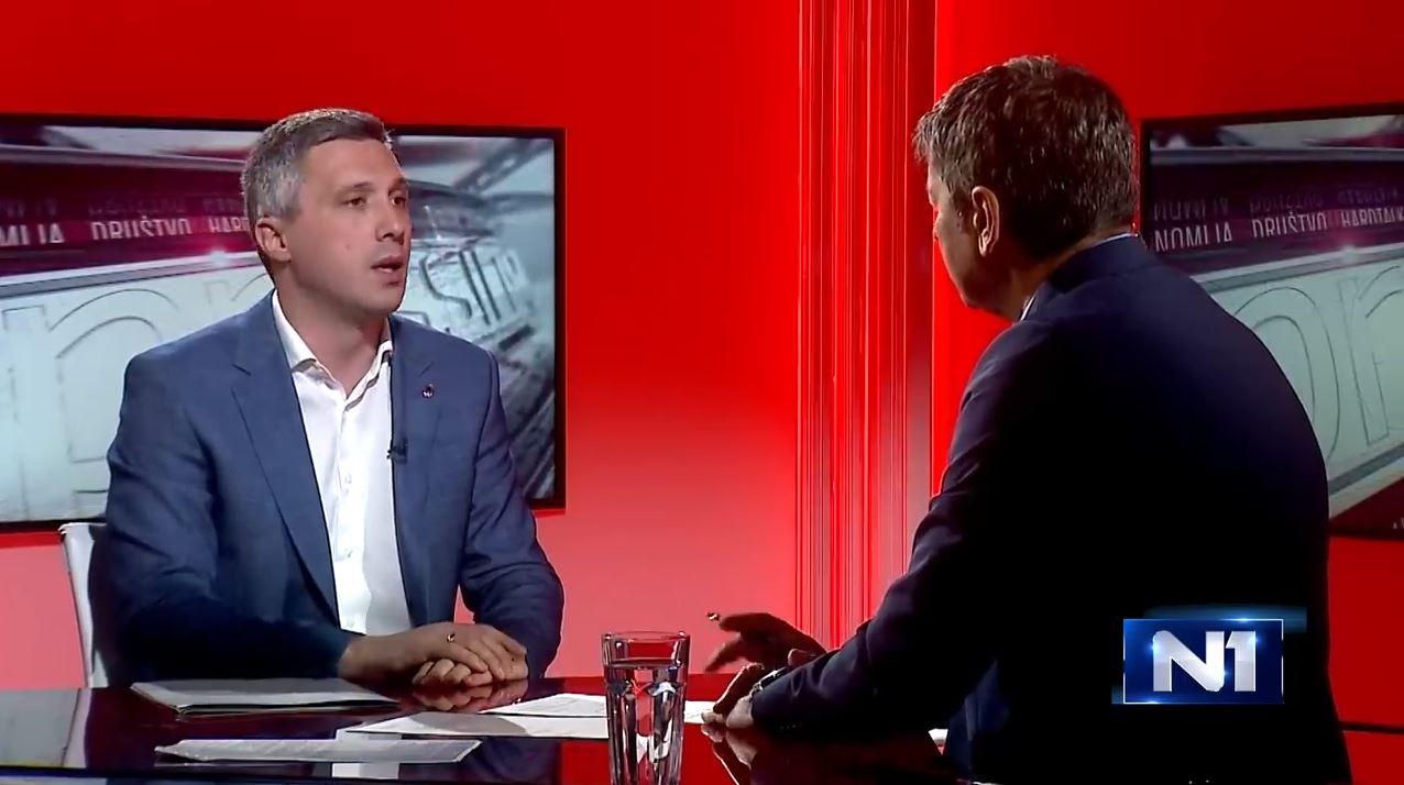 """Boško Obradović u """"Presingu"""": Ili ćemo blokirati institucije, ili će Vučić vladati još 30 godina"""