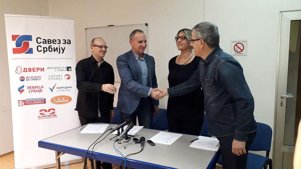 Leskovac: Formirana koalicija SZS