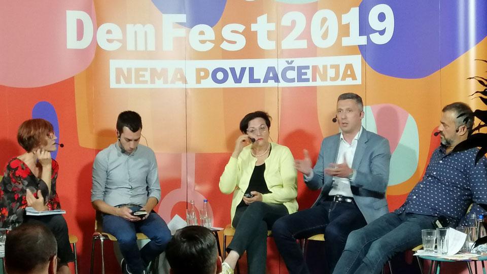 """Boško Obradović na debati """"Srbija, dan posle"""""""