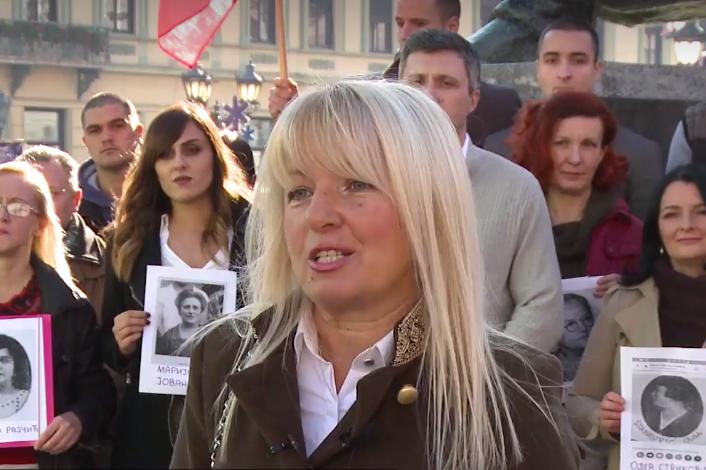 Dveri Novi Sad u spomen Milici Tomić