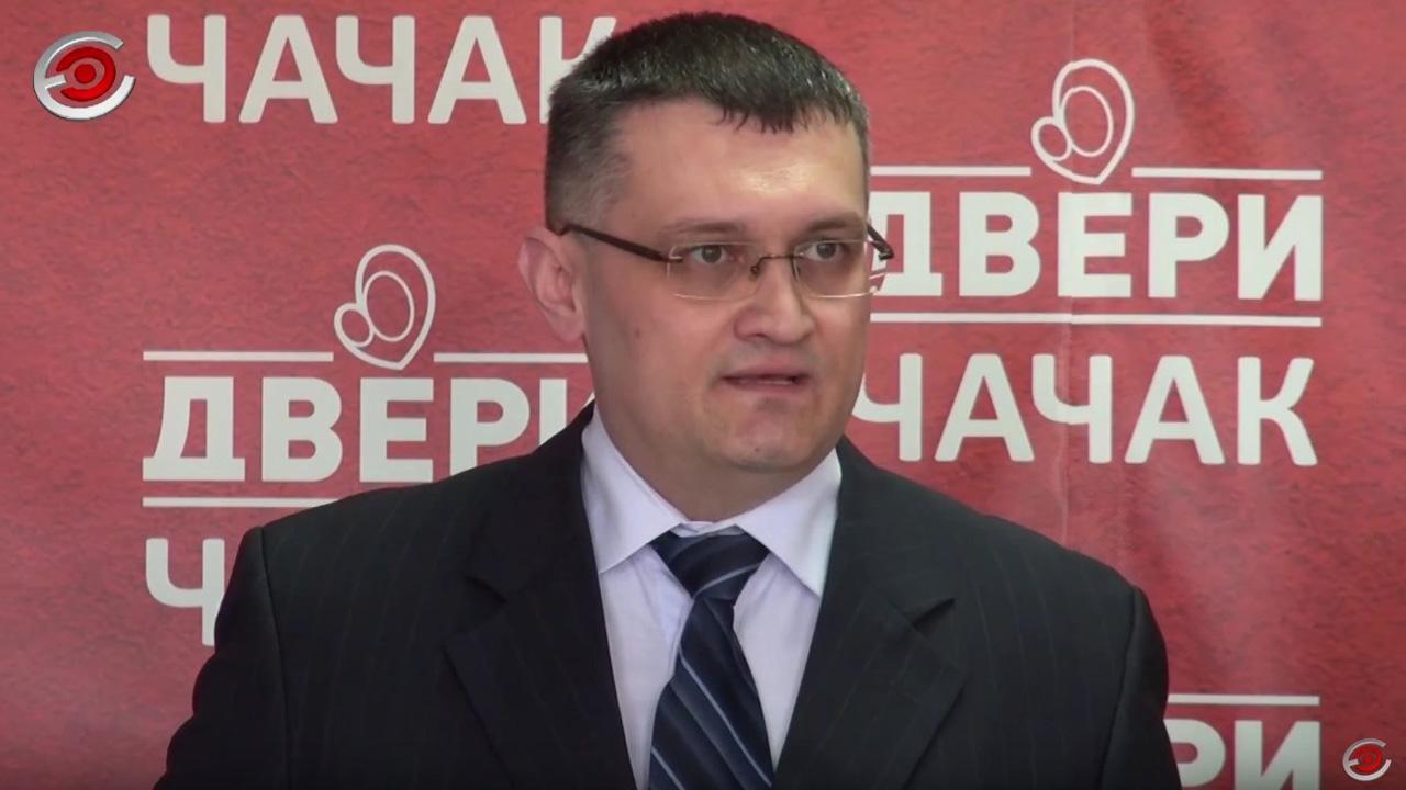 Tanasković: Nastavlja se progon funkcionera Dveri