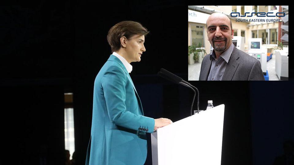 Premijerka predstavlja tzv. rezultate, a ćuti o aferama