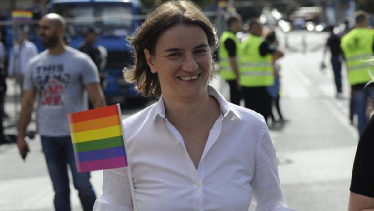 Dveri: Ana Brnabić dolazi da dogovori održavanje gej parade u Čačku iduće godine