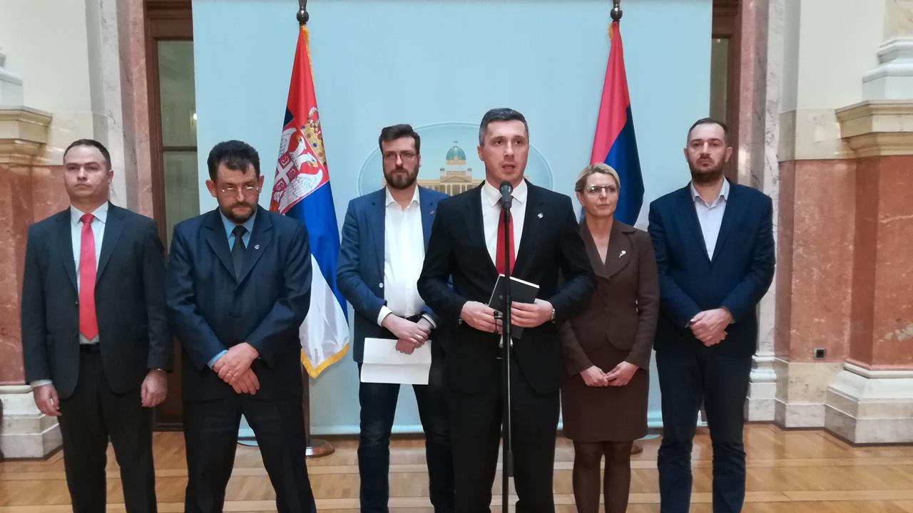 Boško Obradović: Svi na protest da vratimo narodu državu