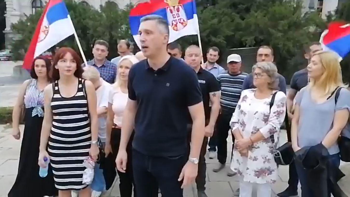 Boško Obradović: Istrajno i zajedno ćemo pobediti ovo ludilo