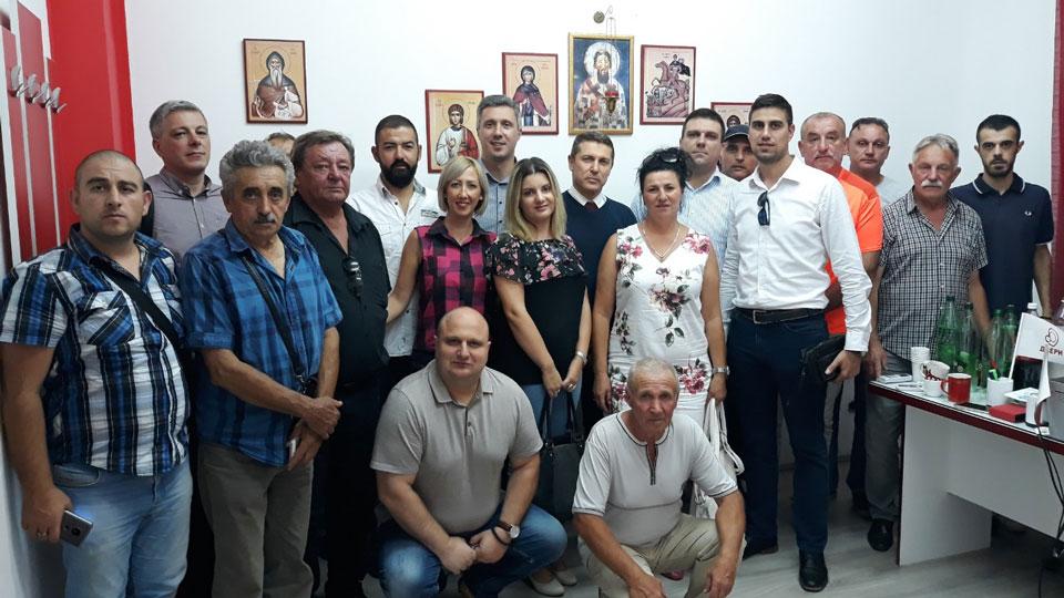 Predsednik Dveri u poseti Jablaničkom okrugu