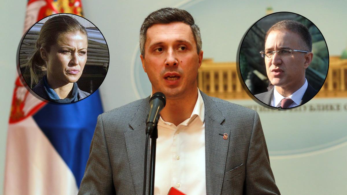 Boško Obradović: Odgovor Nebojši Stefanoviću – Policija je narodna, a ne partijska