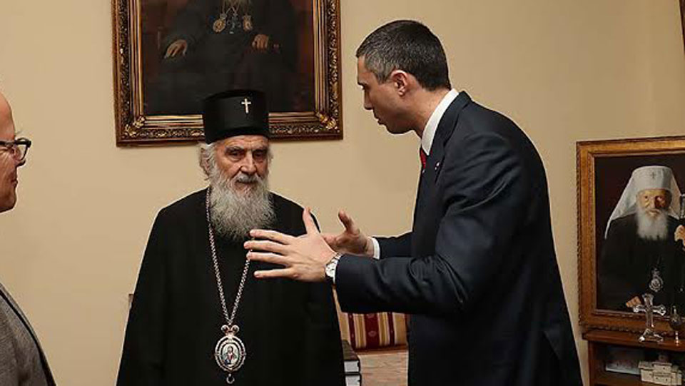 Boško Obradović: SPC je uvek bila na strani naroda, tako treba i da ostane