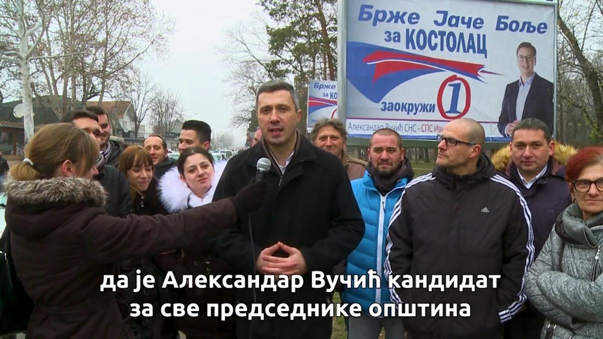 Boško Obradović: Nova mlada nada naprednjaka za predsednika opštine Kostolac