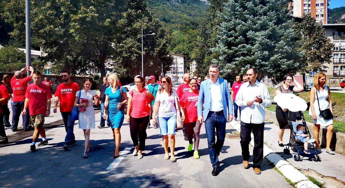 Obradović u Majdanpeku: Ne nudimo obećanja, već ljude koji vole svoju opštinu