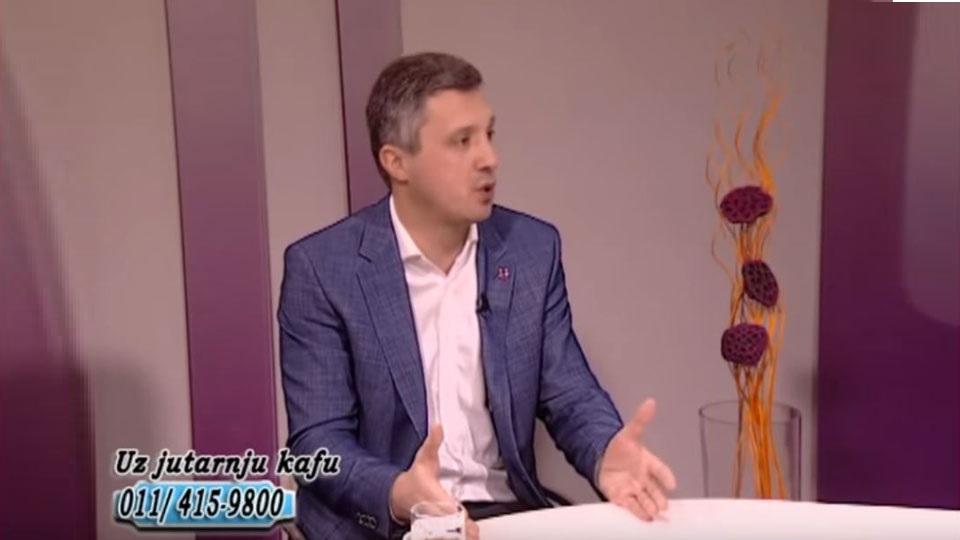 Boško Obradović, TV Naša, Uz jutarnju kafu, 19. februar 2019.