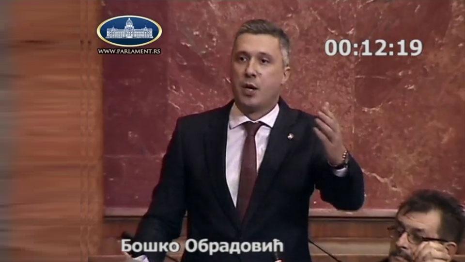 Boško Obradović: Pozivam građane na sutrašnji protest u Kruševac