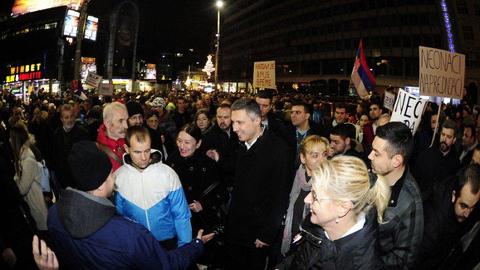 Narodni poslanici Dveri obilaze gradove koji protestuju
