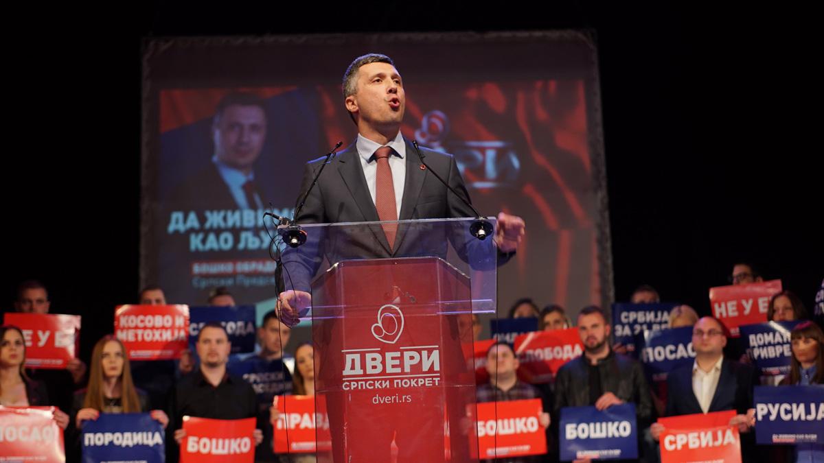 Dveri na 16% – Vučićev režim u panici