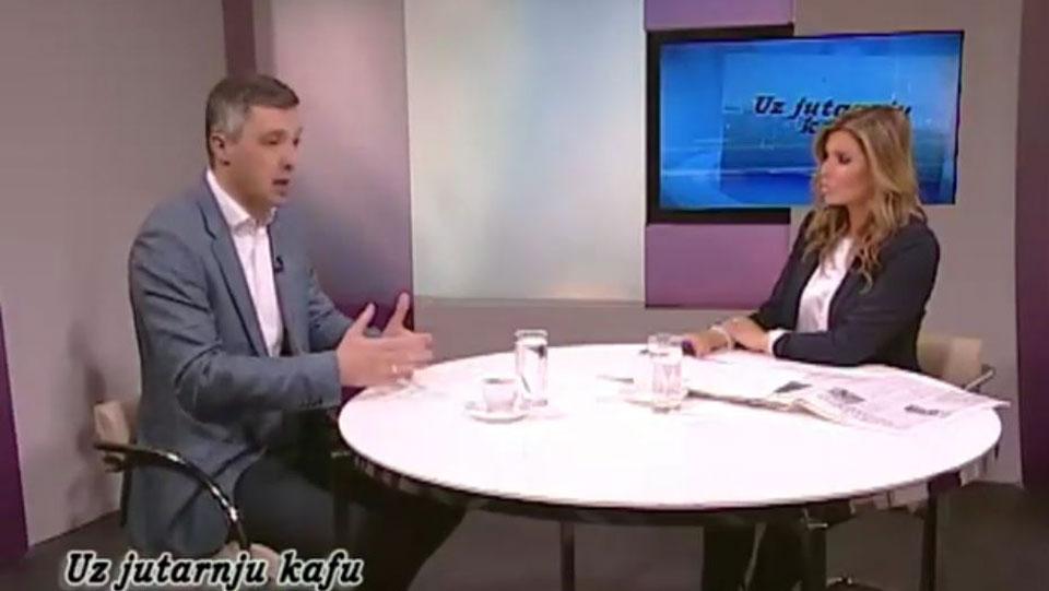 Boško Obradović, TV Naša, Uz jutarnju kafu, 21. mart 2019.