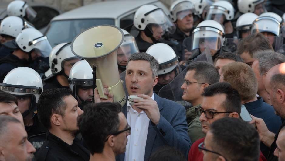 Obradović za Danas: Niko ne može preuzeti protest, samo zajedno možemo uspeti