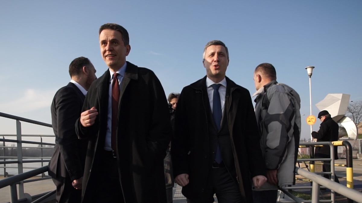 Boško Obradović i Saša Radulović u Boru