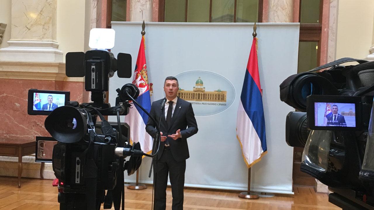 Obradović:  Bosanski je varijanta srpskog jezika, Sandžak ne postoji - to je Raška oblast