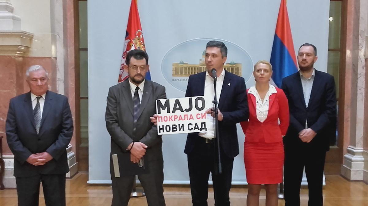 Boško Obradović: Mi nismo vaspitani tako da trpimo kad nas gaze i ponižavaju