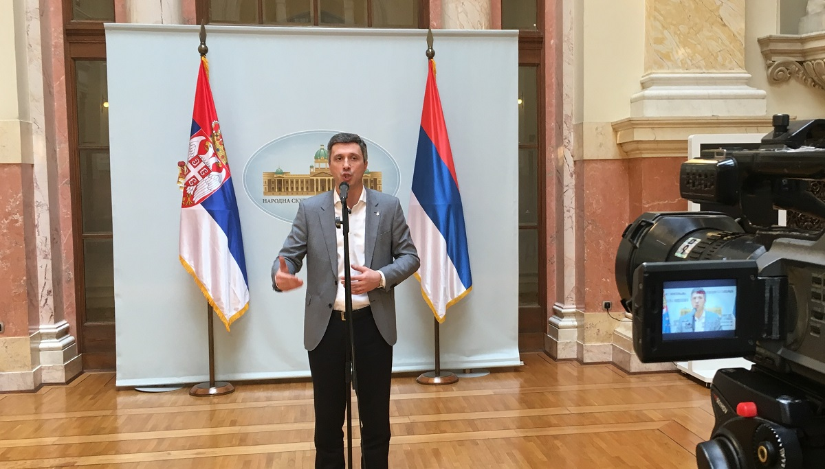 Boško Obradović: Samostalno rešavanje pitanja KiM dovodi do destabilizacije