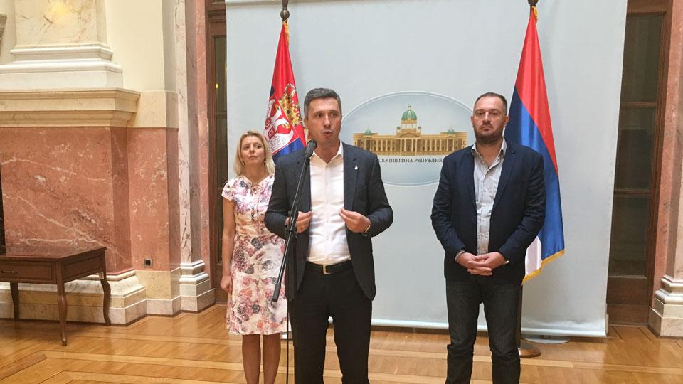 Boško Obradović: Vučić je zvezda rijalitija, a Marijan Rističević njegovo pravo lice u Skupštini