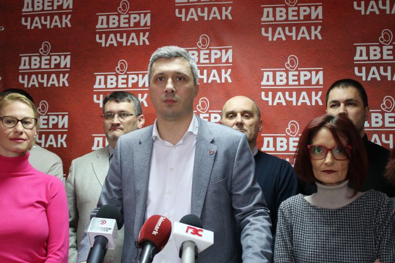 Obradović: Paralelni parlamenti na svim nivoima, bojkot i građanska neposlušnost do smene ove vlasti