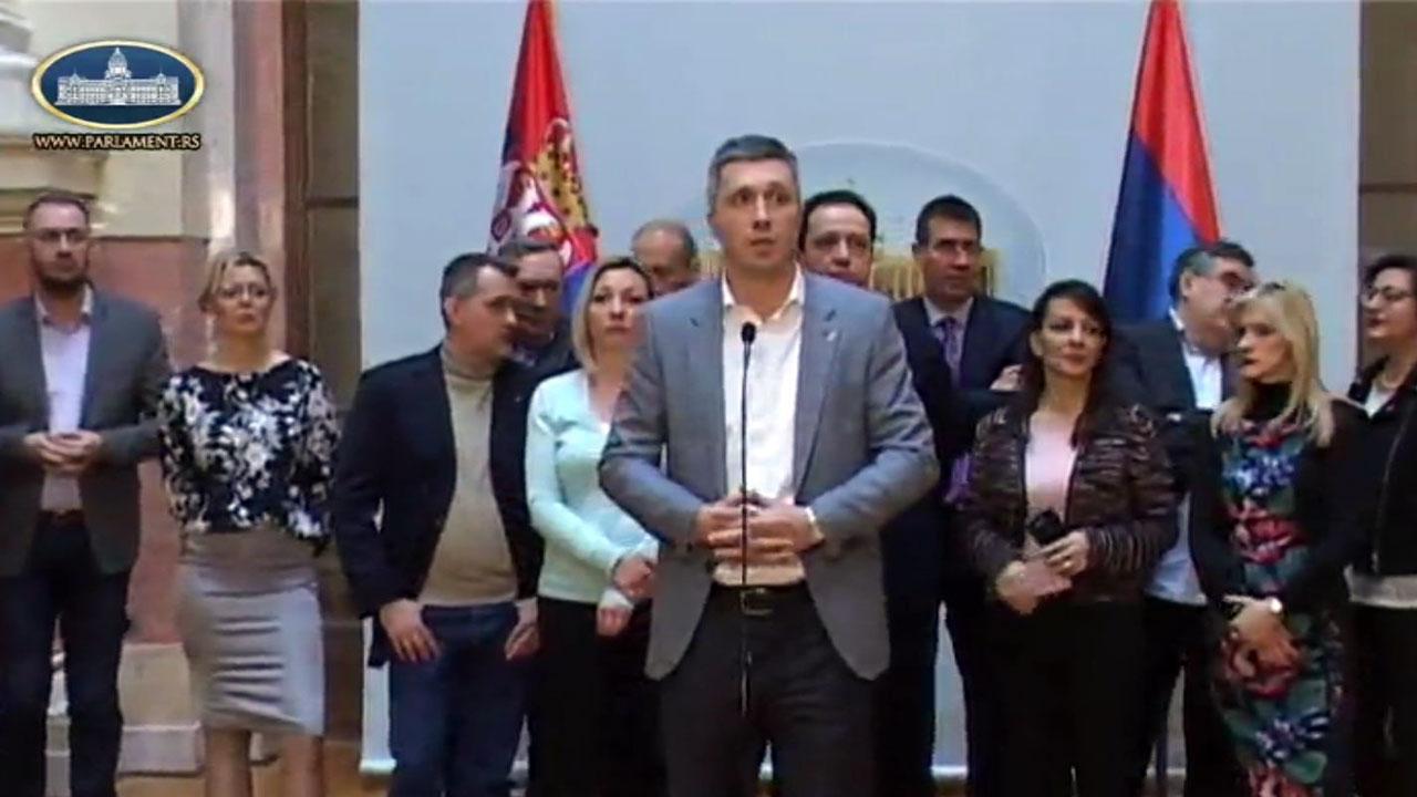 Boško Obradović: Protest opozicije iz Skupštine seli se na ulice!