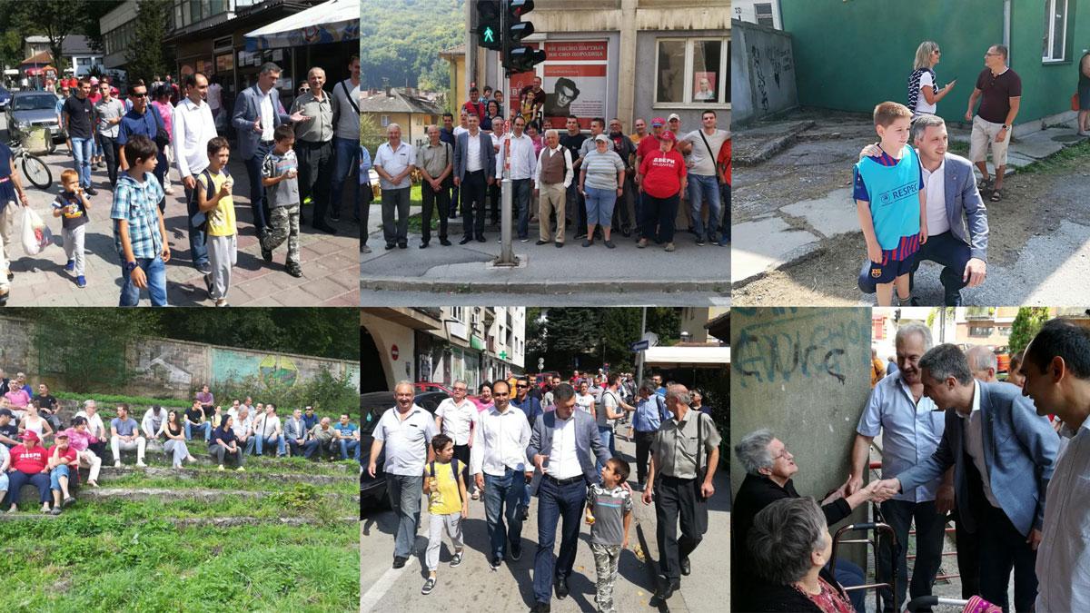 Predsednik Dveri obišao Majdanpek nakon izbora