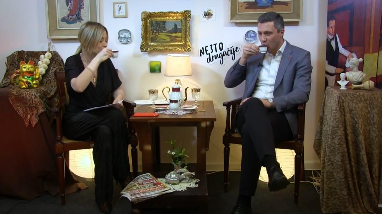 """Boško Obradović u emisiji """"Nešto drugačije"""""""