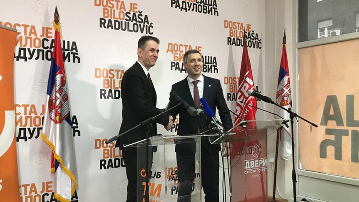 Boško Obradović: Ovo je koalicija STOP LOPOVIMA i jedina prava opozicija u Beogradu i Srbiji danas