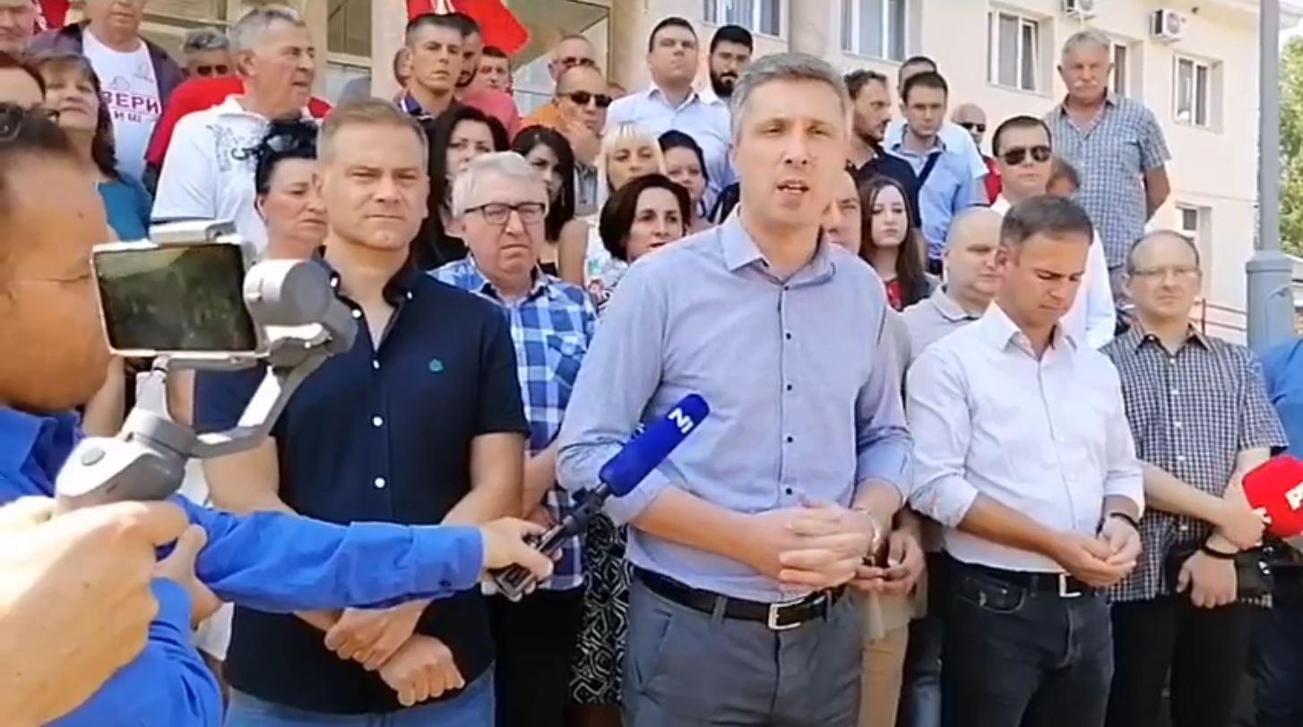 SZS u Medveđi: Bojkot lokalnih izbora je otpor nasilju i pritiscima